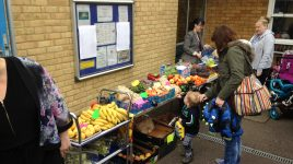 Fruit and vegetable stalls reaching those in most need