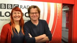 GCDA CEO Claire Pritchard on BBC Radio london