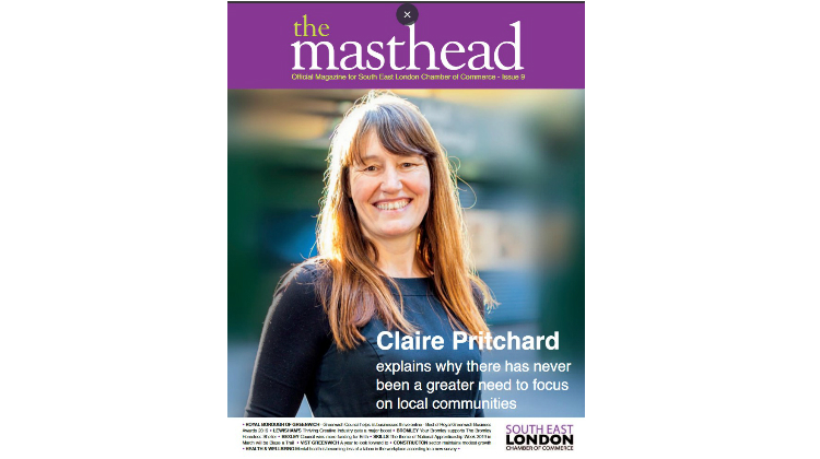 CEO Claire Pritchard featured in Masthead Magazine.