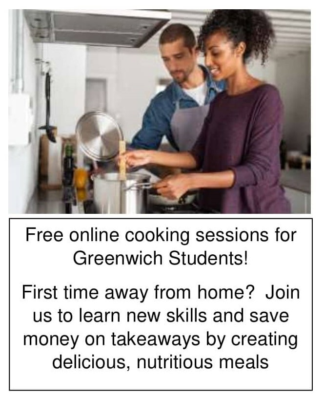 Free Online cooking sessions for Greenwich Students - Future Cooks of Greenwich